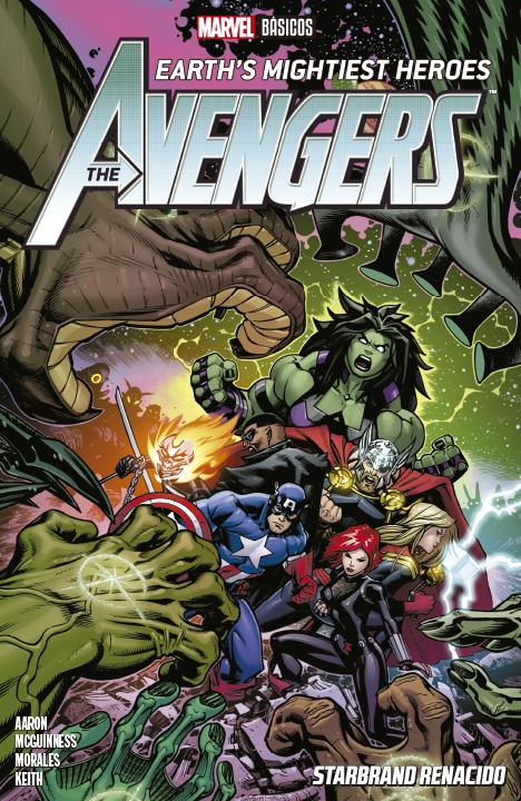 Marvel Básicos – The Avengers Earth's Mightiest Heroes: Starbrand Renacido