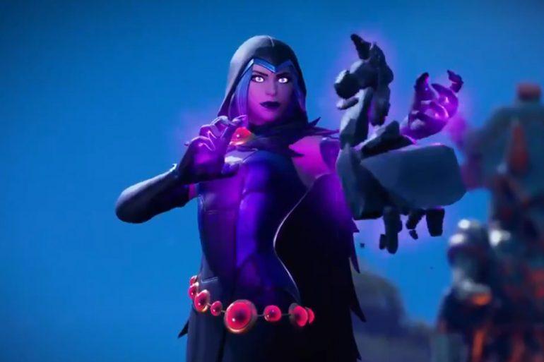 Fortnite: la temporada 6 tendrá el skin de Raven de Teen Titans
