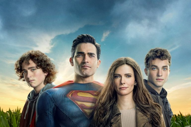 La familia Kent unida en nuevo póster de Superman & Lois
