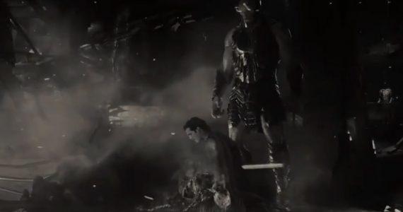 Superman sucumbe ante Darkseid en el tráiler de la Liga de la Justicia en blanco y negro