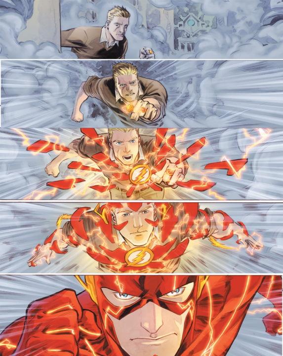 The Flash estrena increíble traje en su temporada 7