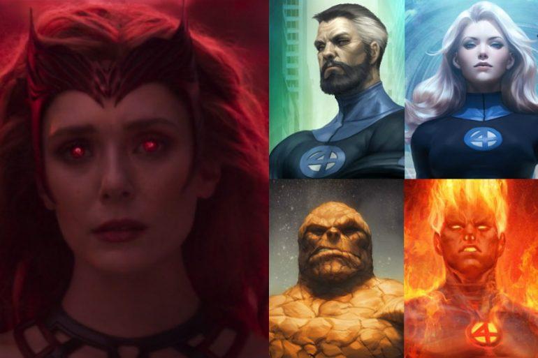 ¿WandaVision buscó introducir al MCU a Fantastic Four?