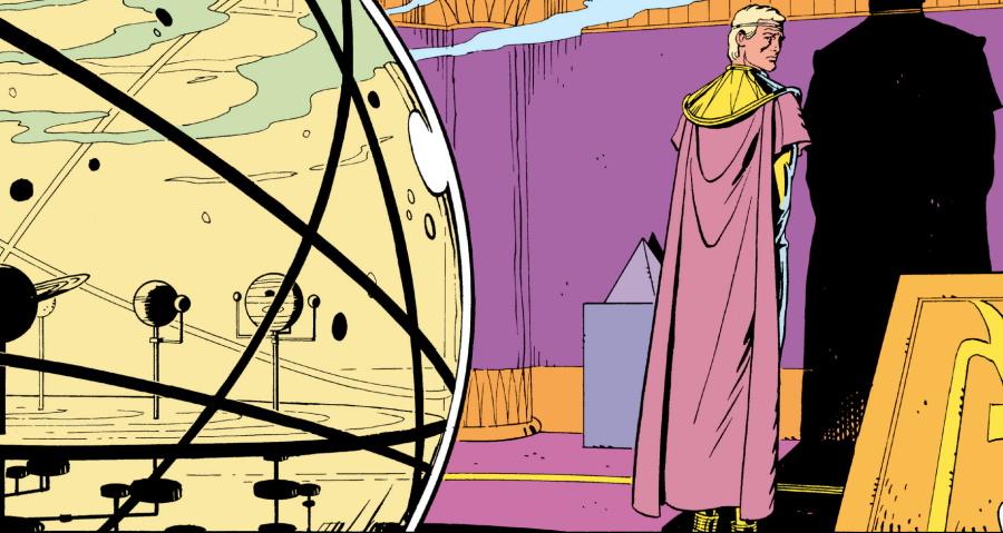 La película Watchmen contempló la muerte de Ozymandias