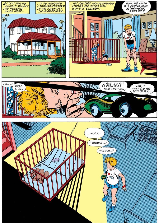 White Vision y el final de la familia de Wanda y Vision