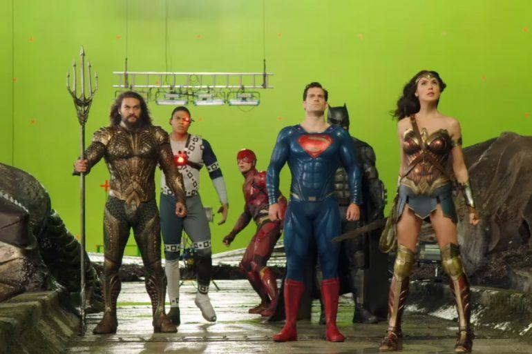 Video: Descubre los secretos detras de cámaras en la realización de Justice League