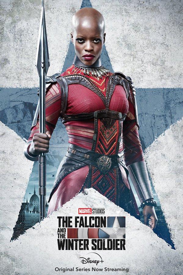 Ayo, de Wakanda, obtiene su propio póster en The Falcon and the Winter Soldier