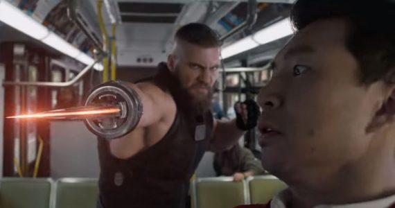 Cameo de Spider-Man: Homecoming en el tráiler de Shang-Chi