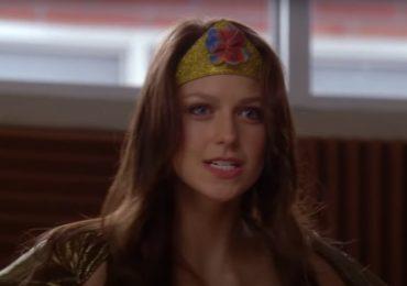 Cuando Melissa Benoist fue Wonder Woman antes de Supergirl