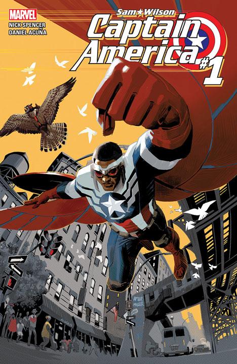 El Universo Cinematográfico de Marvel ya tiene nuevo Capitán América