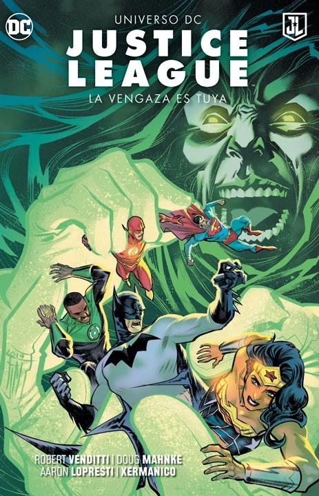 Justice League: La Venganza es tuya