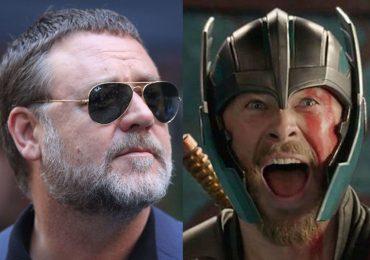 Russell Crowe confirma a quién interpreta en Thor: Love and Thunder