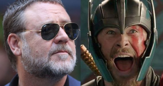 Russell Crowe confirma a quién interpreta en Thor: Love and Thunder