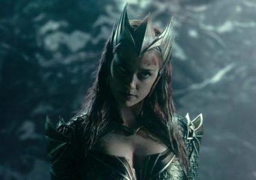 Video: Amber Heard batalla con el disfraz de Mera para Justice League
