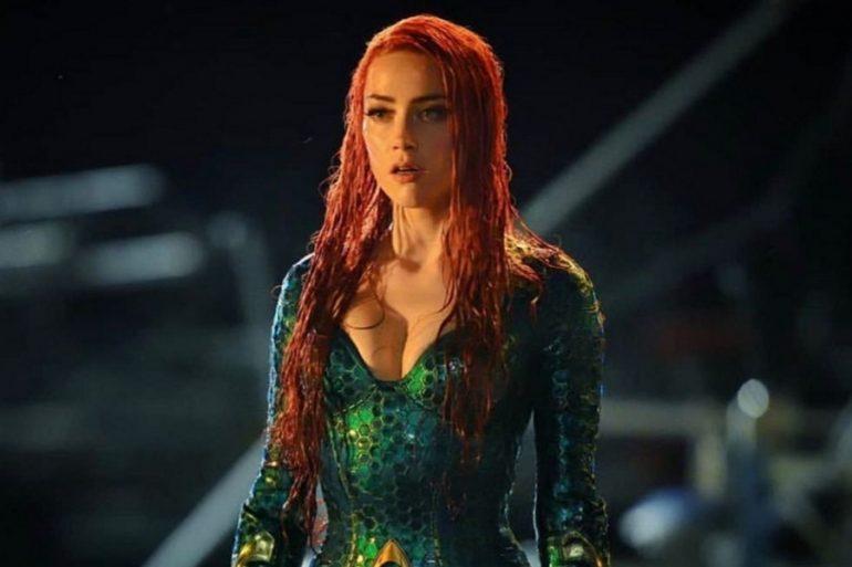 Amber Heard prepara el regreso de Mera en Aquaman 2