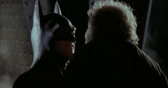 Una frase icónica de Batman en 1989 no estaba de manera original en el guión