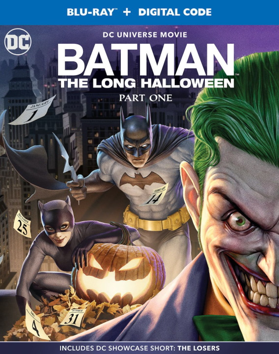 Así luce el arte de la portada de Batman: The Long Halloween, Parte uno