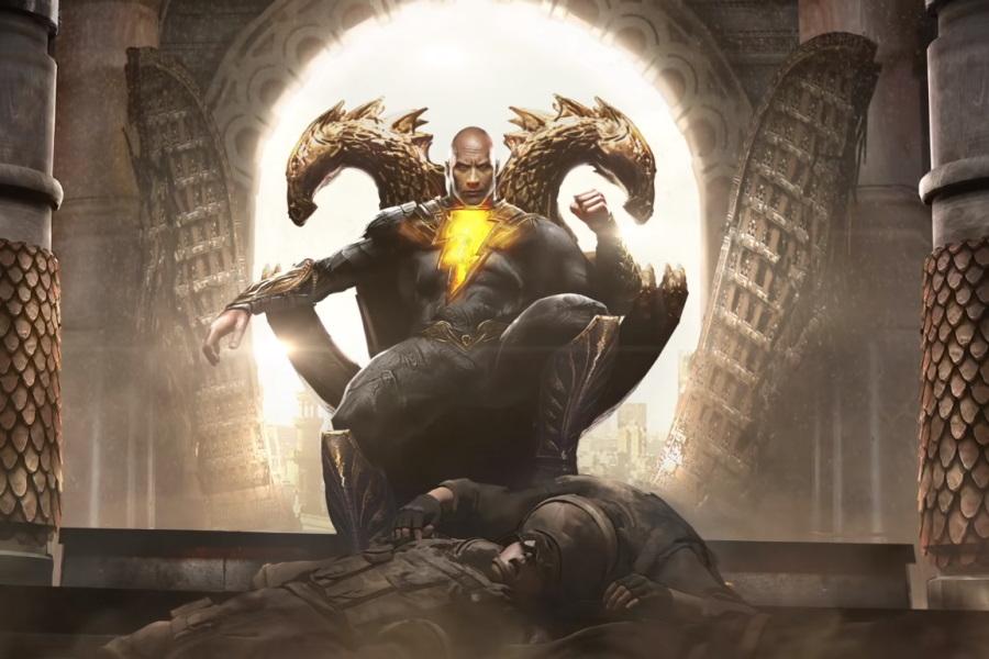 Detalles del traje que The Rock usará en Black Adam