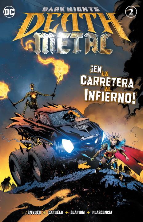 Dark Nights: Death Metal #2 - Reseña y crítica