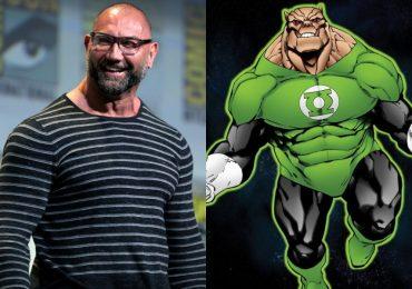 Dave Bautista responde con humor si será Kilowog en la serie Green Lantern