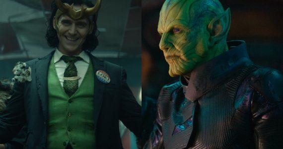 ¿Estarán los Skrulls en la serie de Loki?