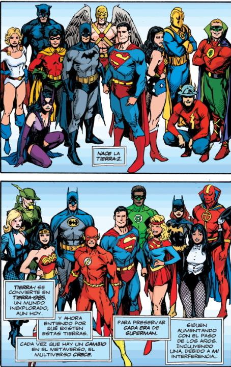 Desbloqueando la historia del Multiverso DC