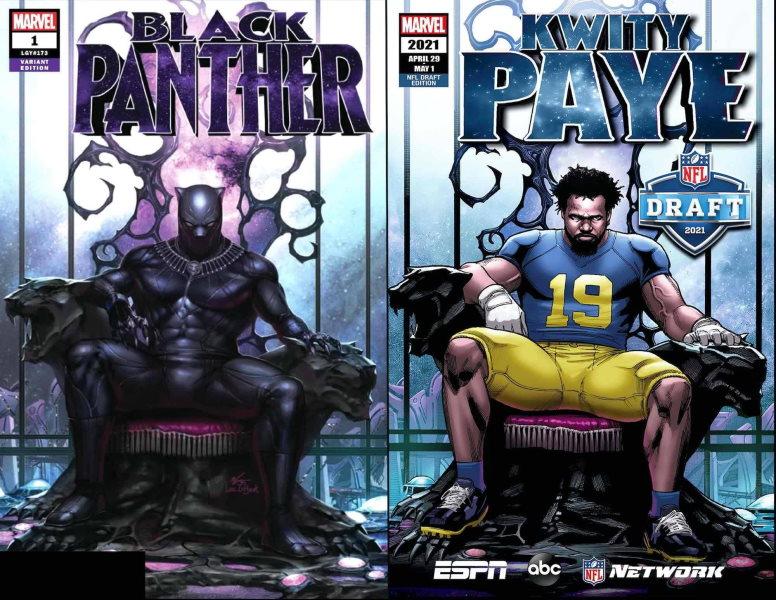 El Draft 2021 de la NFL desde la óptica de Marvel