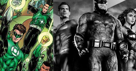 Zack Snyder revela a que Green Lantern quería presentar en Justice League