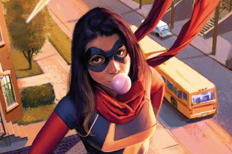 Fotos del set de Ms. Marvel revelan el disfraz completo de Kamala Khan
