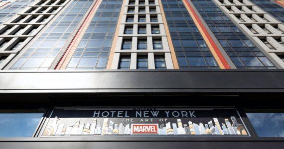 El arte de Marvel que honra a la ciudad de Nueva York llega a París