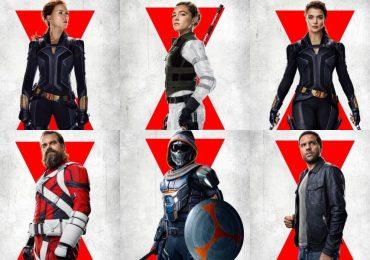 ¡Black Widow cuenta con nuevos pósters individuales!