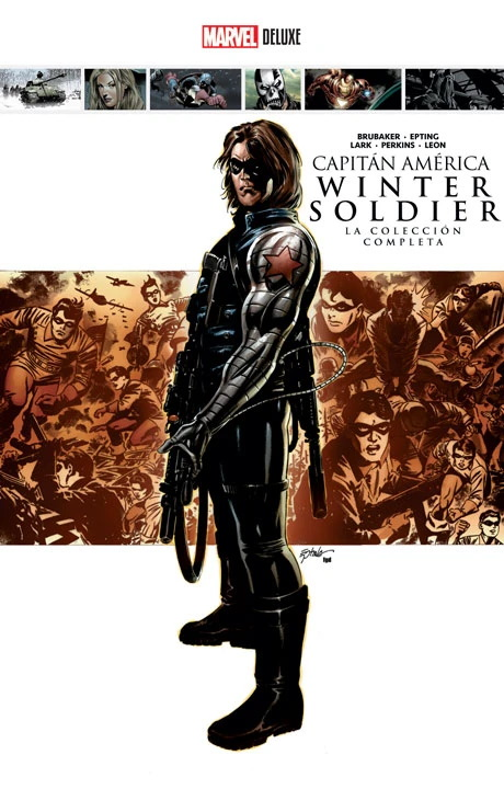 Marvel Deluxe - Captain America: Winter Soldier The Complete Collection