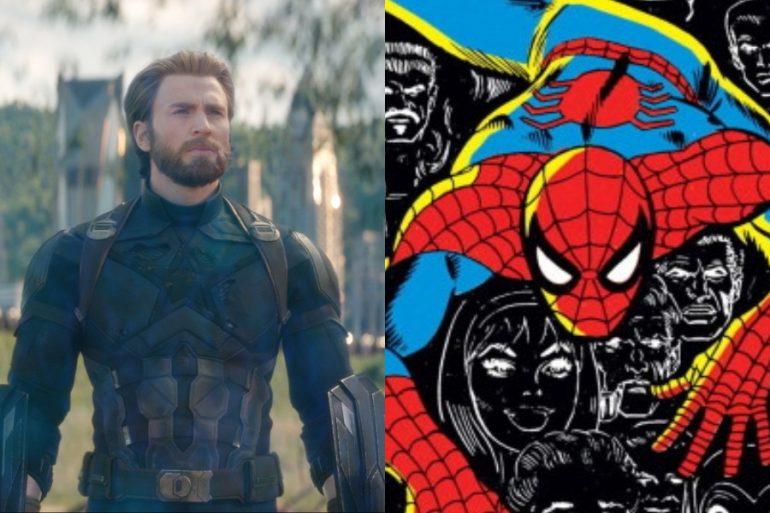 Chris Evans volvería al MCU ¡como Spider-Man!