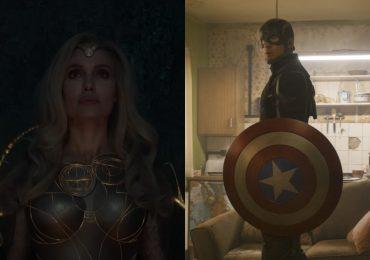 La sutil referencia al Capitán América en el tráiler de Eternals