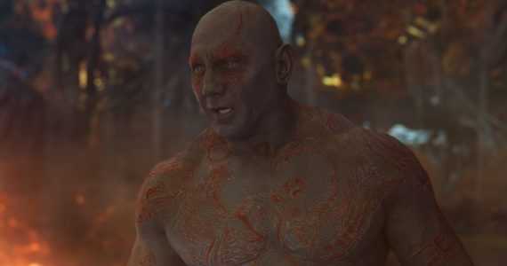 Guardians of the Galaxy Vol. 3 sería la última película de Dave Bautista con Marvel