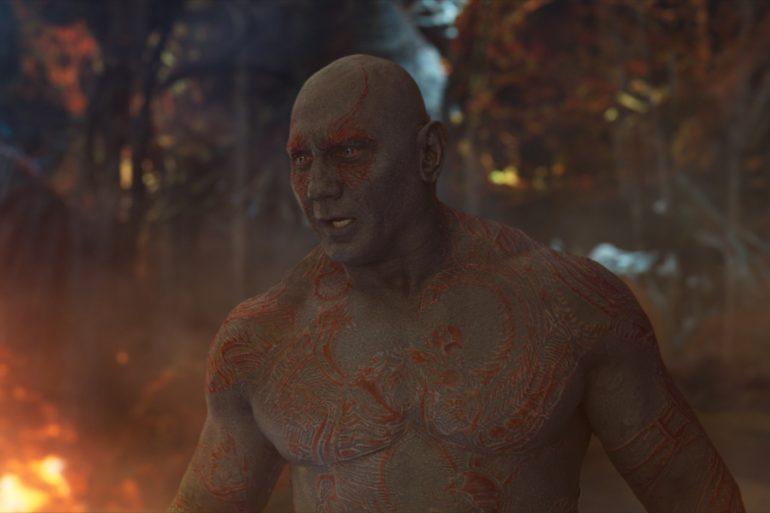 Guardians of the Galaxy Vol. 3 sería la última película de Dave Bautista con Marvel