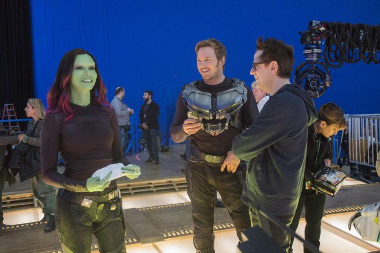James Gunn no se descarta para dirigir una cuarta parte de Guardians of the Galaxy