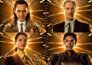 Loki y los agentes de la TVA llegan en nuevos pósters individuales