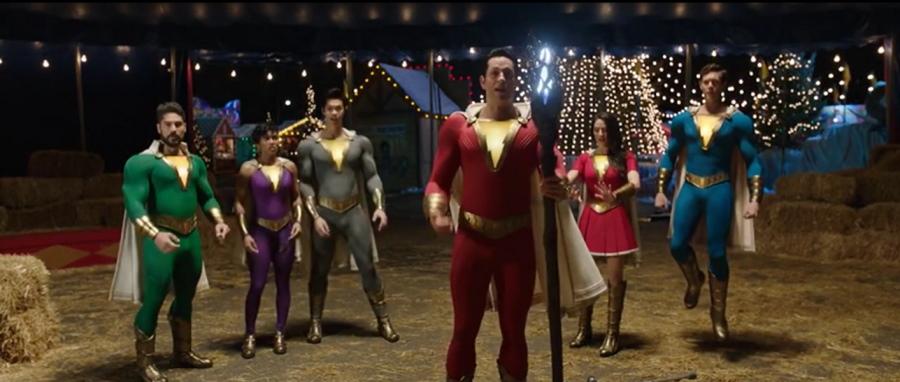 La familia Shazam tendrá nuevos trajes para Shazam: Fury of the Gods