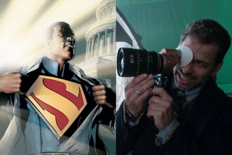 Zack Snyder opina sobre el proyecto de cine del Superman afroamericano