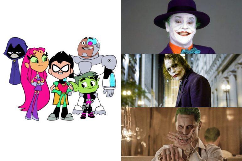 Teen Titans Go! rinde homenaje a la historia de Joker en el cine