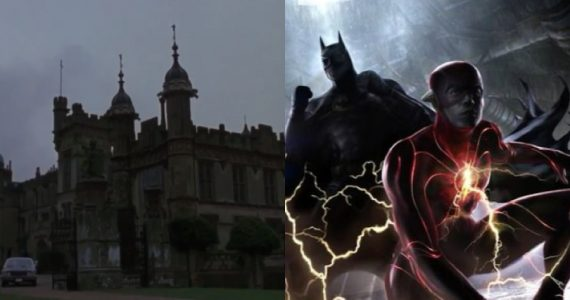 La Mansión Wayne de Batman en 1989 vuelve en The Flash