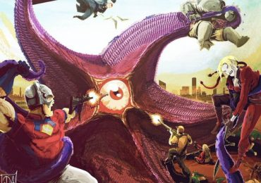 The Suicide Squad: James Gunn comparte un fanart homenaje al debut de Starro