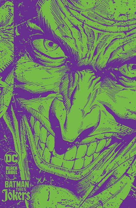 DC Black Label – Batman: Tres Jokers. Portada Especial Fosforescente