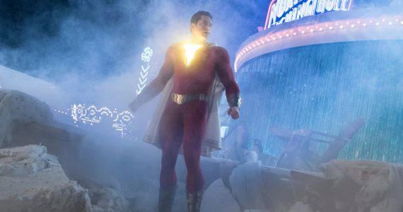 Fotos del set de Shazam! Fury of the Gods revelan el primer vistazo al nuevo traje