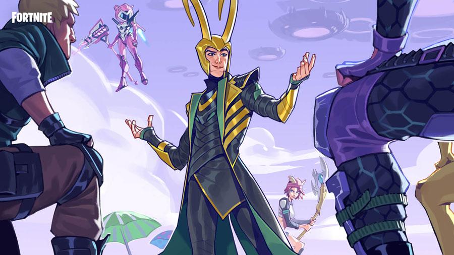 Loki Laufeyson se une al Club Fornite en julio