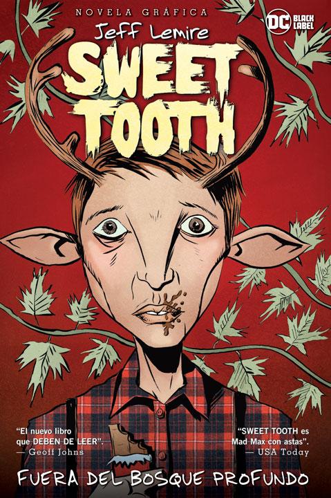 DC Black Label Novela Gráfica – Sweet Tooth Vol- 1 Fuera del Bosque Profundo