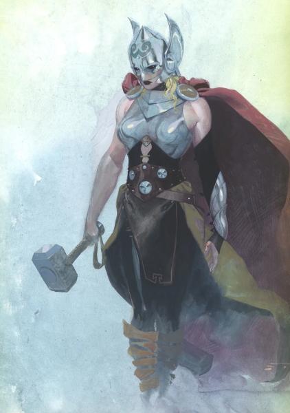 Thor: Love and Thunder: Así luce Natalie Portman como la nueva Thor