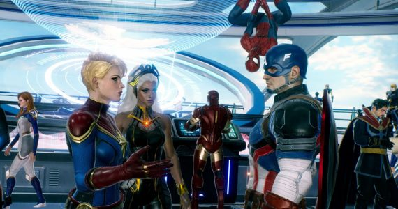 Tráiler de Marvel Future Revolution, el nuevo RPG de mundo abierto