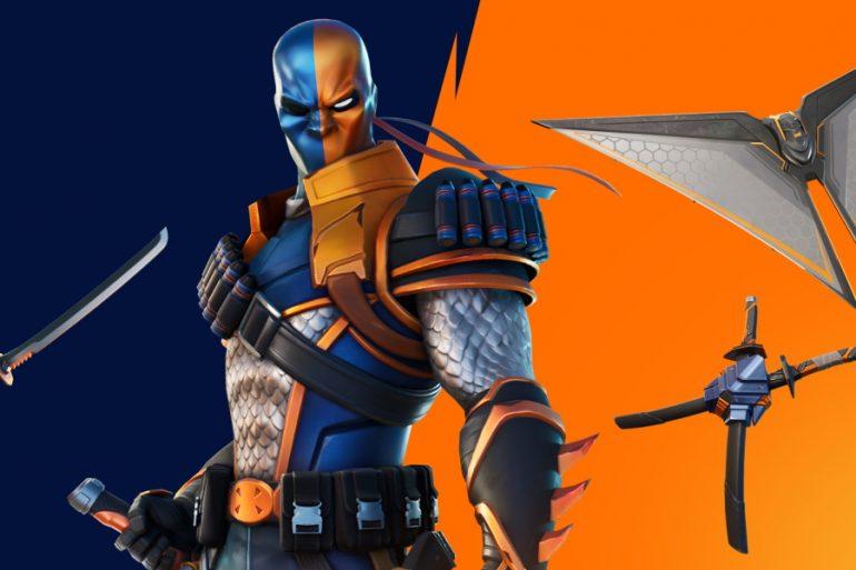 Así puedes conseguir el skin de Deathstroke en Batman / Fortnite: Punto Cero