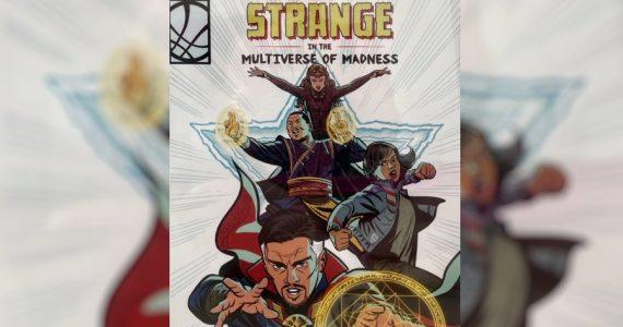 Primer arte conceptual de Doctor Strange in the Multiverse of Madness